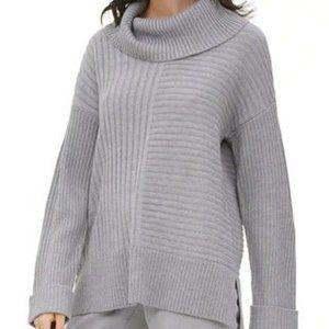 Calvin Klein Ribbed Cowl Neck Tunic